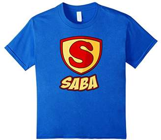 SABA Superhero T Shirt - Father's Day Super Gift Tee