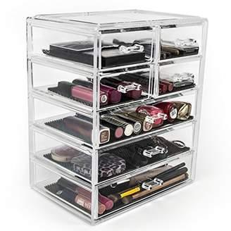 Sorbus Cosmetics Makeup and Jewelry Big Storage Case Display - Stylish Vanity