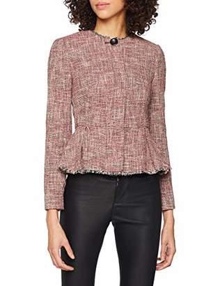 LK Bennett Women's CESILIA Jacket, (RED 970)
