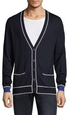 HUGO BOSS T-Lamotte Buttoned Sweater