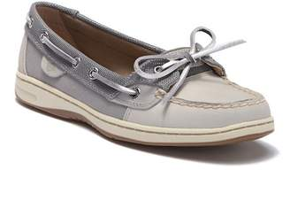 Sperry Angelfish Metallic Mesh Boat Shoe