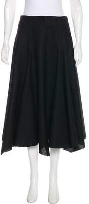 Yang Li Tweed Midi Skirt