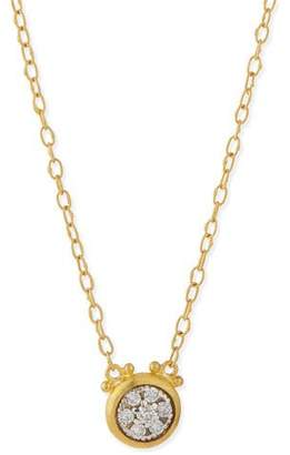 Gurhan Celestial 24k Gold Diamond Pendant Necklace