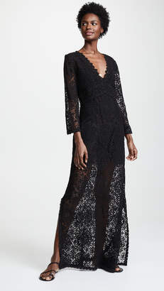 DAY Birger et Mikkelsen Temptation Positano Rennel Long Sleeve Crochet Dress