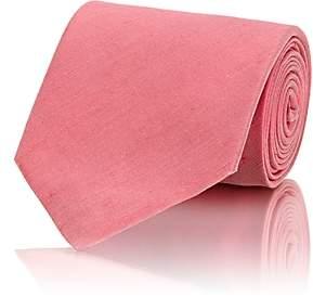 Gucci Men's Silk-Linen Shantung Necktie - Pink
