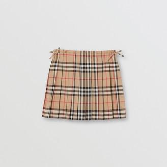 Burberry (バーバリー) - Burberry ヴィンテージチェック プリーツスカート