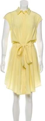 Tory Burch Sleeveless Button-Down Dress