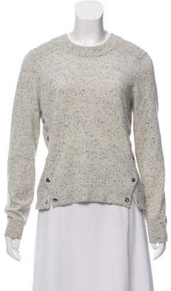 Veronica Beard Cashmere Button-Accented Knit