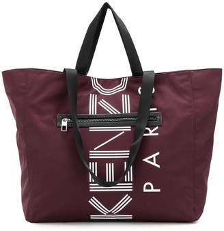 Kenzo logo shopping tote