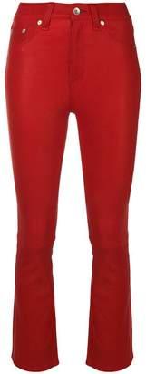 Rag & Bone Jean bootcut leather trousers