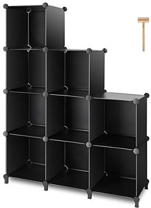 Beau At Amazon.com · TomCare Cube Storage 9 Cube Closet Organizer Shelves Plastic  Storage Cube Organizer DIY Closet Organizer