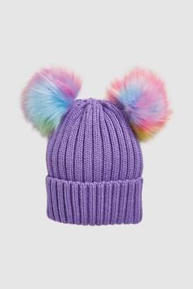 Next Girls Personalised Pom Pom Hat