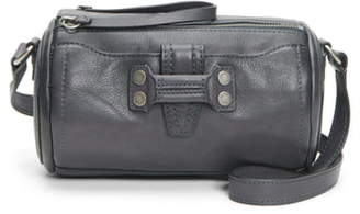 Frye Mini Nora Leather Barrel Crossbody Bag
