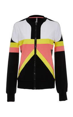 NO KA'OI Nohona Nola Long Sleeve Zip-Up Jacket