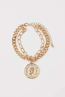 H&M Double-strand Bracelet - Gold