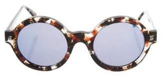 Illesteva Frieda Round Sunglasses