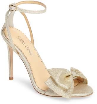 Bella Belle Aubrey Bow Ankle Strap Sandal