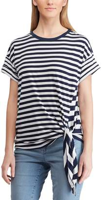 Chaps Women's Nautical Side-Tie Tee