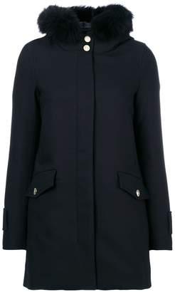 Herno hood trim puffer jacket