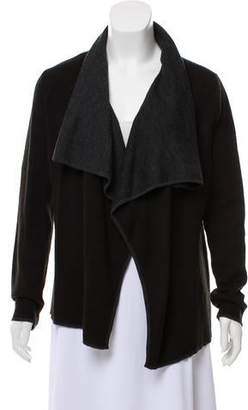 Calvin Klein Bicolor Long Sleeve Cardigan