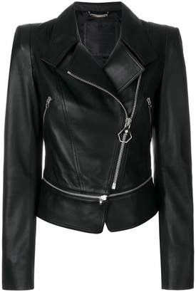 Philipp Plein Bonnif Frazier leather jacket