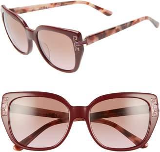 Tory Burch 56mm Logo T Cat Eye Sunglasses