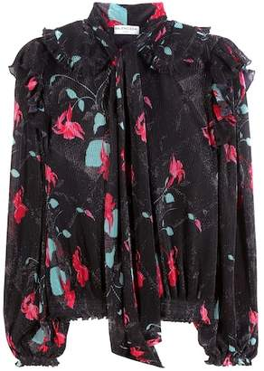 Balenciaga Plissé blouse