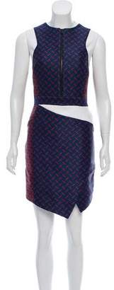 Camilla And Marc Sleeveless Pattern Dress