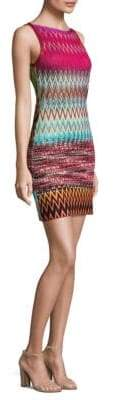 Missoni Zig Zag Crewneck Mini Dress