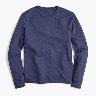 J.Crew Slim Mercantile Broken-in long-sleeve heathered T-shirt