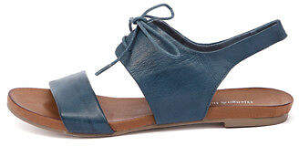 Django & Juliette New James Navy Womens Shoes Casual Sandals Sandals Flat