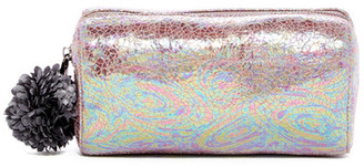 Deux Lux Pom Pom Cosmetic Pouch $45 thestylecure.com