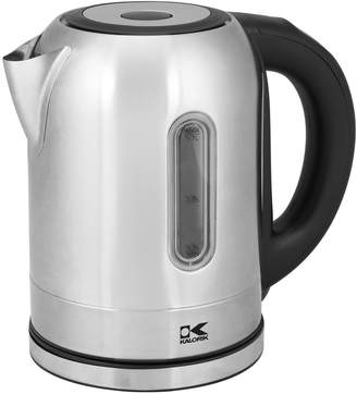 Kalorik Stainless Steel Digital Water Kettle with Color Changing LED lights
