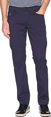 U.S. Polo Assn. Men's Slim Straight 5 Pocket Stretch Twill Jean