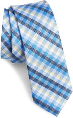 1901 Mug Plaid Silk Blend Tie