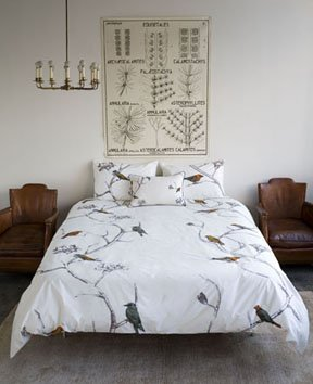 DwellStudio Chinoiserie Bedding Duvet and Shams