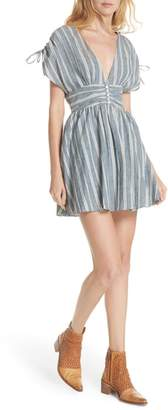 Free People Roll the Dice Stripe Dress