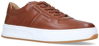 J.P Tods Leather Cassetta Platform Sneakers
