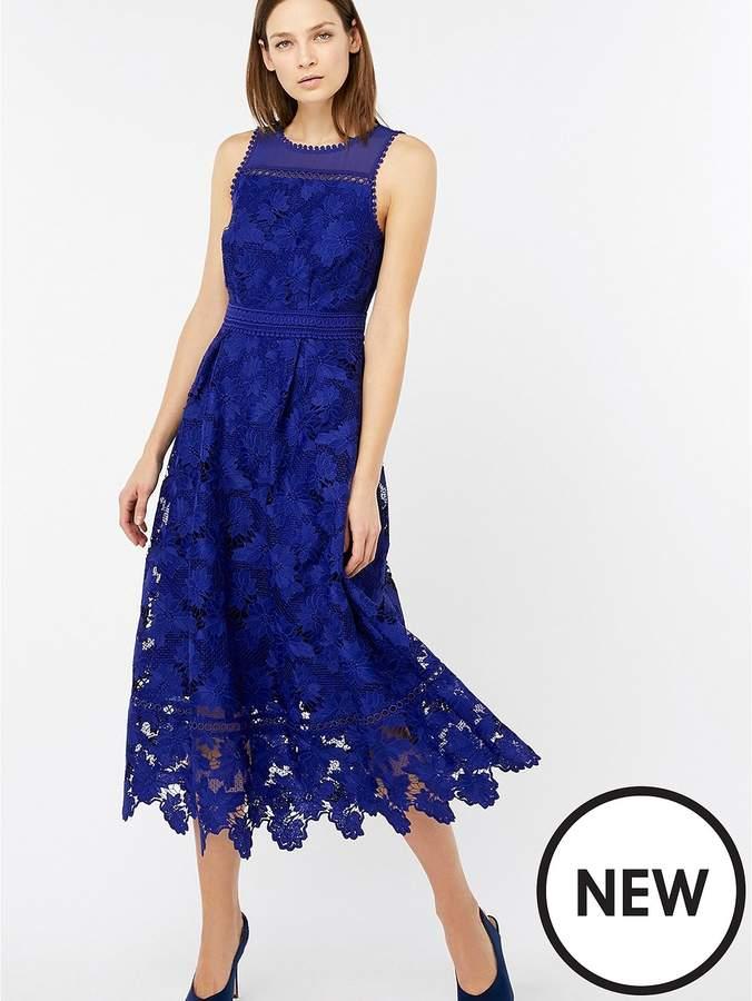 Becky Lace Midi Dress