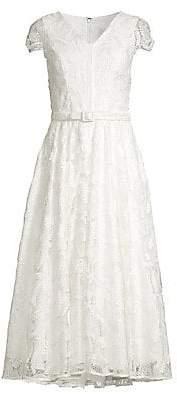 Shoshanna Women's Tana Lace Tea Dress - Size 0