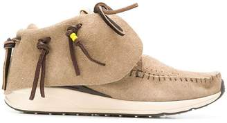 Visvim smooth loafer-boots