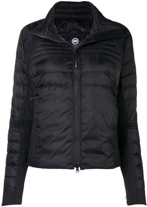 Canada Goose hooded fitted jacket