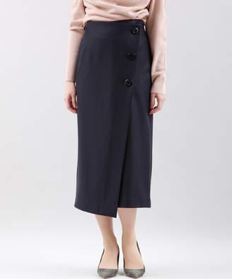 INED (イネド) - INED フロントボタンラップスカート