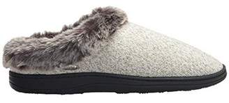 Acorn CHINCHILLA RAGG CLOG SLIPPERS - CHARCOAL HEATHER, LARGE