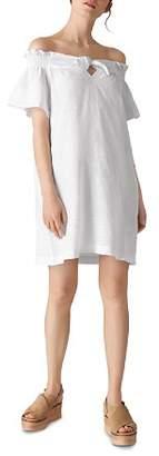 Whistles Off-the-Shoulder Shift Dress