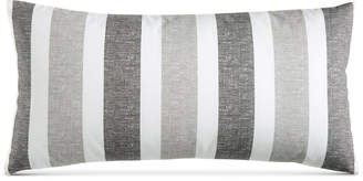 """Charter Club Damask Designs Texture Stripe 12"""" x 24"""" Decorative Pillow, Created for Macy's Bedding"""