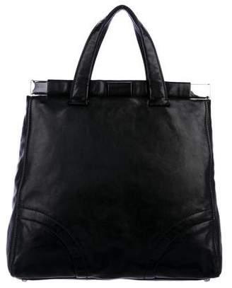 Miu Miu Leather Oversized Tote