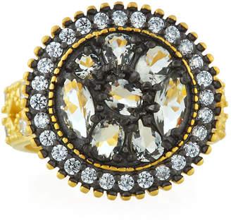 Freida Rothman Rose d'Or Round Pebble Ring, Size 7