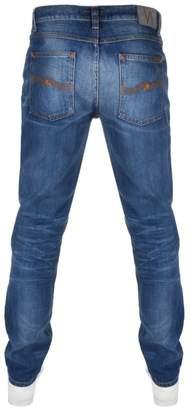 Nudie Jeans Lean Dean Slim Tapered Jeans Lost Blue