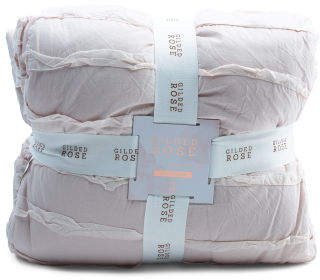 Stonewashed Ruffle Comforter Set